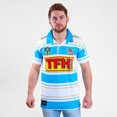 Classic Sportswear Gold Coast Titans Rugby Shirt Mens