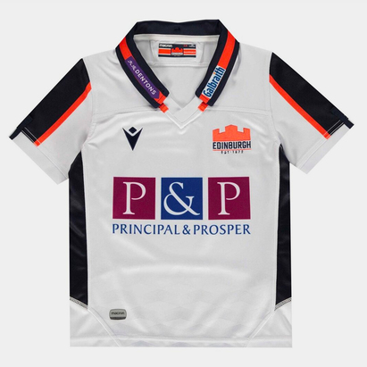 Macron Edinburgh Away Jersey Juniors