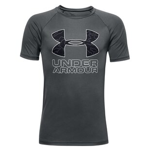 Under Armour Armour Tech Big Logo T Shirt Junior Boys