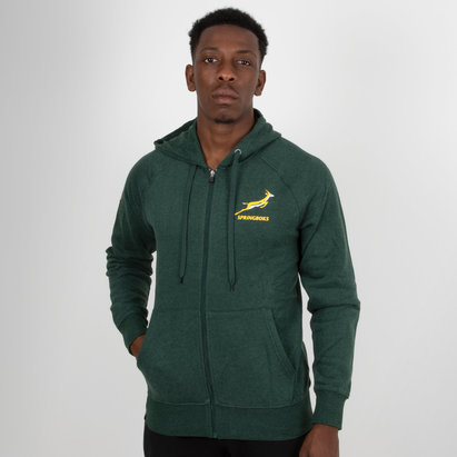 Asics South Africa Springboks 2018/19 Hooded Rugby Sweat