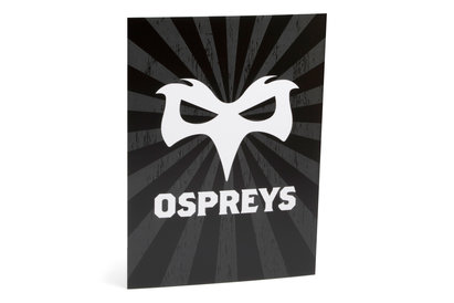 Ospreys Large Rugby Greeting Card