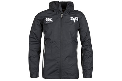 Canterbury Ospreys 2017/19 Kids Full Zip Rain Rugby Jacket