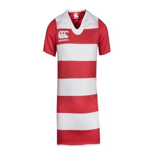 Canterbury Challenge Hooped Kids S/S Rugby Shirt