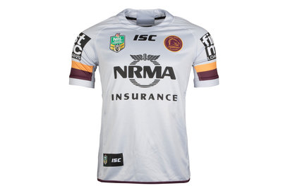 ISC Brisbane Broncos NRL 2018 Alternate S/S Rugby Shirt