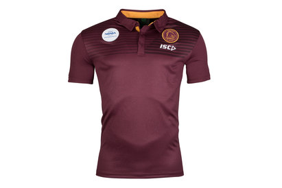 ISC Brisbane Broncos NRL 2018 Players Rugby Polo Shirt