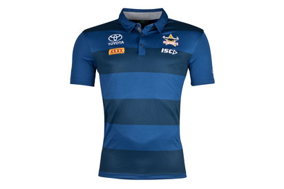 ISC North Queensland Cowboys NRL 2018 Players Rugby Polo Shirt