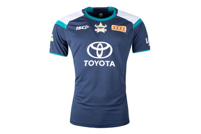 ISC North Queensland Cowboys NRL 2018 Players Rugby Training T-Shirt
