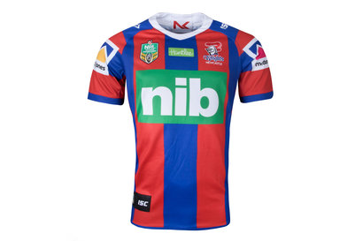 ISC Newcastle Knights NRL 2018 Home S/S Rugby Shirt