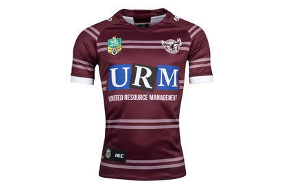 ISC Manly Sea Eagles 2018 NRL Home S/S Rugby Shirt