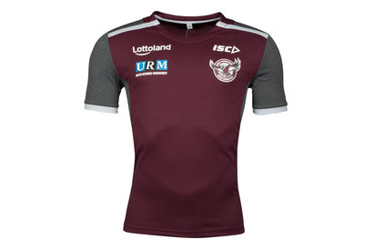 ISC Manly Sea Eagles 2018 NRL Players Rugby Training T-Shirt