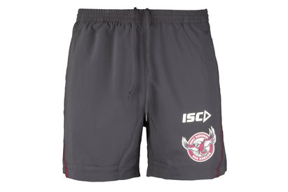 ISC Manly Sea Eagles 2018 NRL Players Rugby Training Shorts