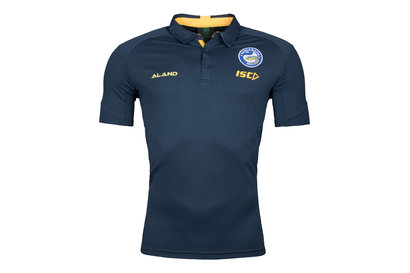 ISC Parramatta Eels 2018 NRL Players Rugby Polo Shirt