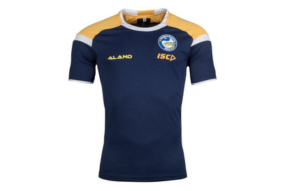 ISC Parramatta Eels 2018 NRL Players Rugby Training T-Shirt