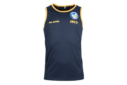 ISC Parramatta Eels 2018 NRL Players Rugby Training Singlet