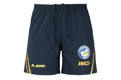 ISC Parramatta Eels 2018 NRL Players Rugby Training Shorts