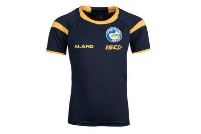 ISC Parramatta Eels 2018 NRL Kids Rugby Training T-Shirt