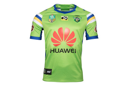 ISC Canberra Raiders NRL 2018 Home S/S Rugby Shirt