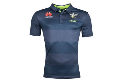 ISC Canberra Raiders NRL 2018 Players Rugby Polo Shirt