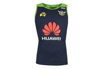 ISC Canberra Raiders NRL 2018 Players Rugby Training Singlet