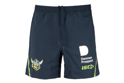 ISC Canberra Raiders NRL 2018 Players Rugby Training Shorts