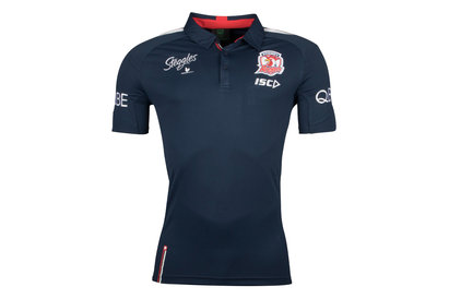 ISC Sydney Roosters NRL 2018 Players Rugby Polo Shirt