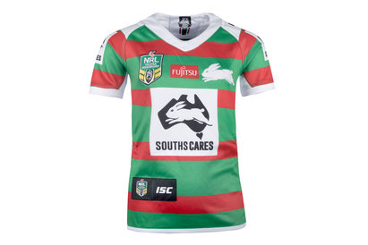 ISC South Sydney Rabbitohs NRL 2018 Kids Alternate S/S Rugby Shirt