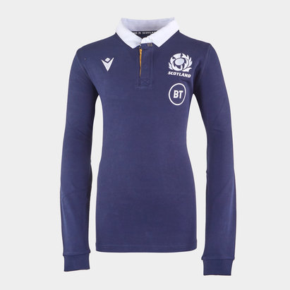 Macron Scotland Home Classic Rugby Shirt 2020 2021 Junior