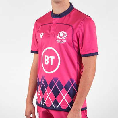 Macron Scotland 2020/21 Alternate 7's Shirt Mens
