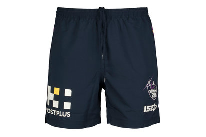 ISC Melbourne Storm NRL 2018 Players Rugby Training Shorts