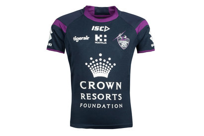 ISC Melbourne Storm NRL 2018 Kids Rugby Training T-Shirt