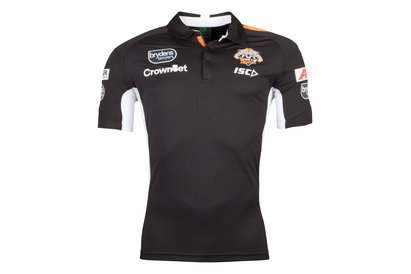 ISC Wests Tigers NRL 2018 Players Rugby Polo Shirt