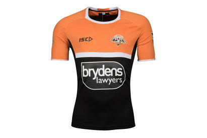 ISC Wests Tigers NRL 2018 Players Rugby Training T-Shirt