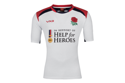 VX-3 Help for Heroes England 2018/19 S/S Rugby Shirt