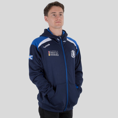 VX-3 Help for Heroes Scotland 2018/19 Hooded Rugby Sweat