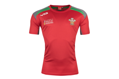 VX-3 Help for Heroes Wales 2018/19 Rugby T-Shirt