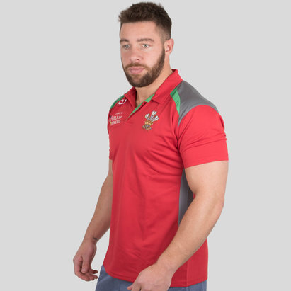 VX-3 Help for Heroes Wales 2018/19 Rugby Polo Shirt