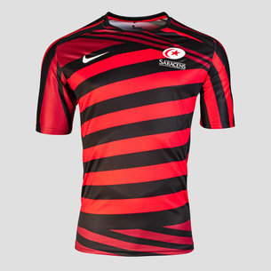 Nike Saracens 20/21 Warm Up Top Mens