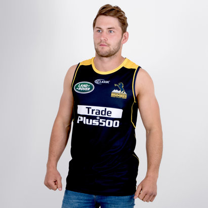 Classic Sportswear Brumbies 2018 Super Rugby Players Training Singlet