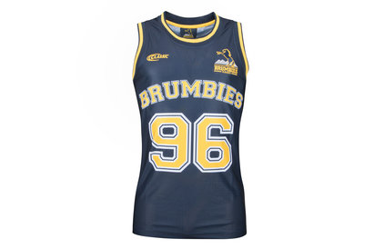 Classic Sportswear Brumbies 2018 Super Rugby Players Basketball Singlet