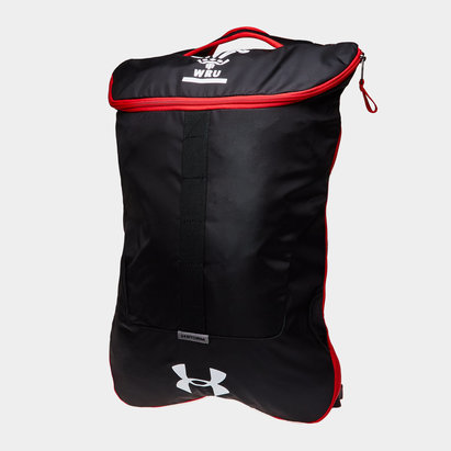 Under Armour Wales WRU 2017/18 Rugby Expandable Sackpack