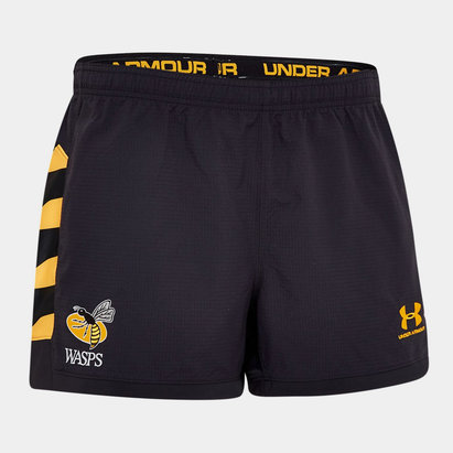Under Armour Wasps 2018/19 Home Rugby Shorts
