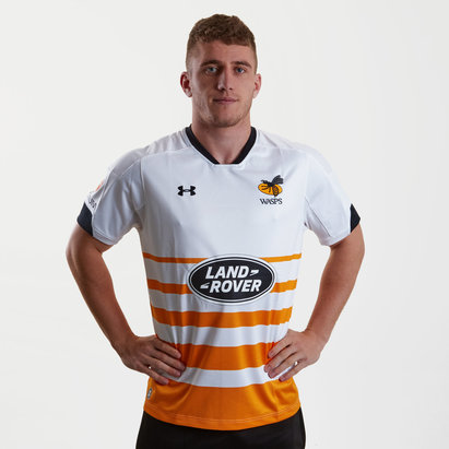 Under Armour Wasps 2018/19 Alternate S/S Replica Rugby Shirt