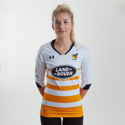 Under Armour Wasps 2018/19 Alternate Ladies S/S Replica Rugby Shirt