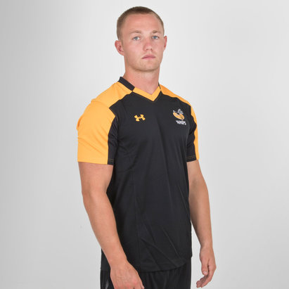 Under Armour Wasps 2018/19 Players S/S Rugby Training Shirt