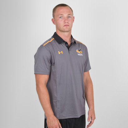 Under Armour Wasps 2018/19 Players Rugby Polo Shirt