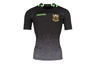Macron Northampton Saints 2017/18 S/S Rugby Training Shirt