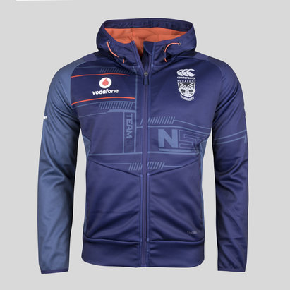 Canterbury New Zealand Warriors 2018 NRL Vapodri Full Zip Hooded Sweat