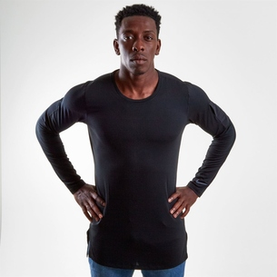Nike Long Sleeve Fitted Training Top Mens