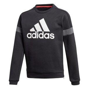 adidas Large Logo Crew Sweatshirt Junior Boys