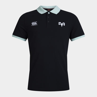 Canterbury Ospreys Cotton Polo Shirt 20/21